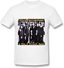 Hot Band Bruce Springsteen and The E Street BandT Shirt for Men White