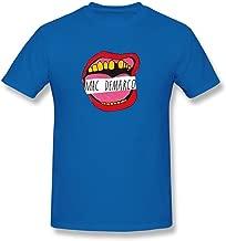 Mac Demarco Men's Tshirt Tee ,RoyalBlue