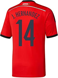 J. HERNANDEZ #14 Mexico Away Jersey World Cup 2014 YOUTH.