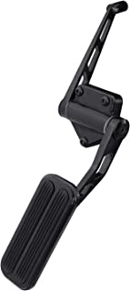 Lokar XBAG-6165 Black Billet Aluminum Throttle Pedal with Rubber for Chevy/GMC C-10