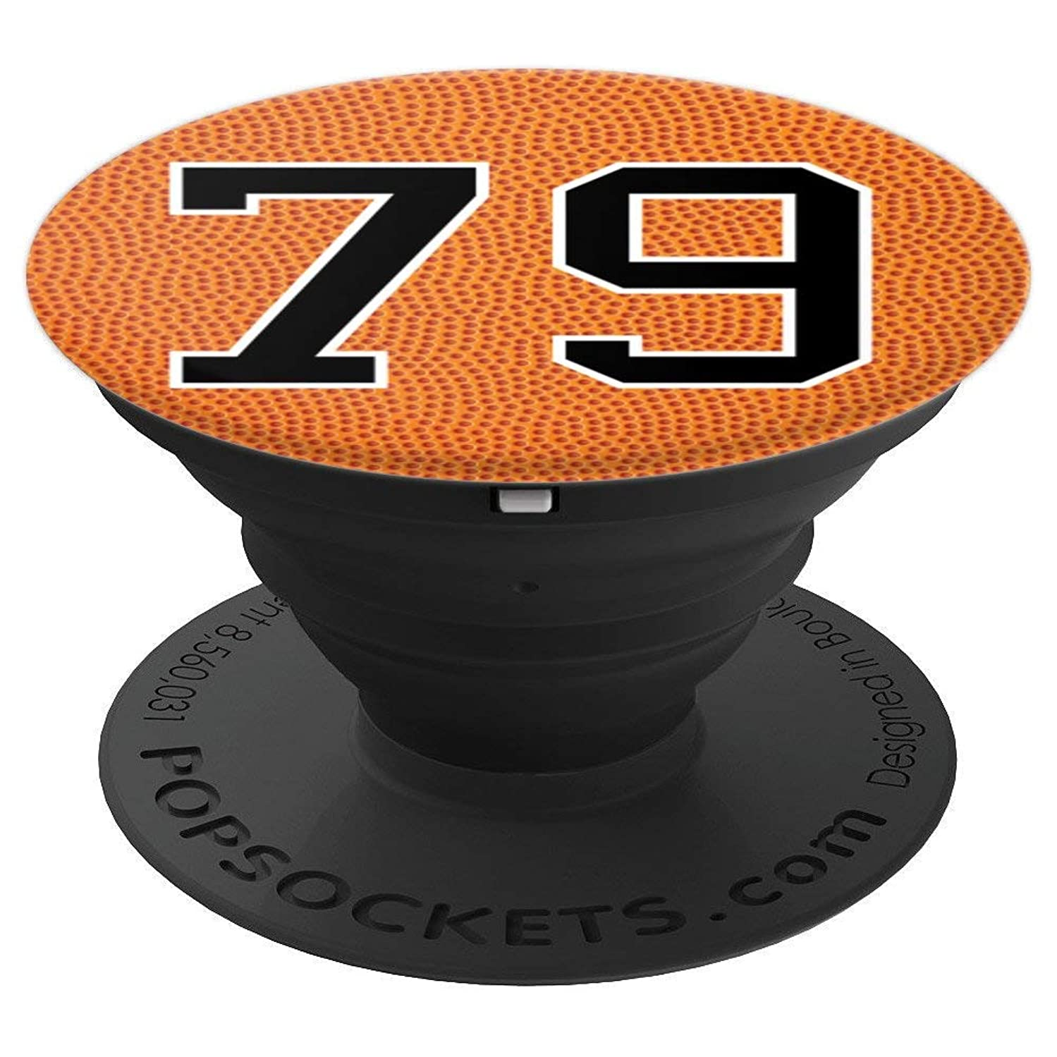 Basketball Number 79 Jersey Uniform Gift For Men Women - PopSockets Grip and Stand for Phones and Tablets