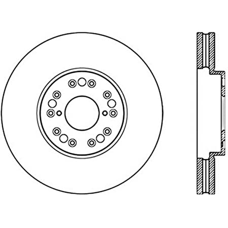 StopTech 128.44114R Front Right Sport Cross Drilled Brake Rotor