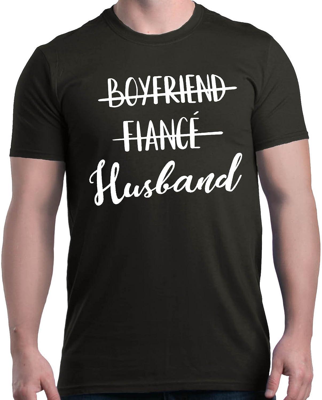 shop4ever Boyfriend Fiance Husband Tampa Mall Shirts Wedding T-Shirt Max 77% OFF