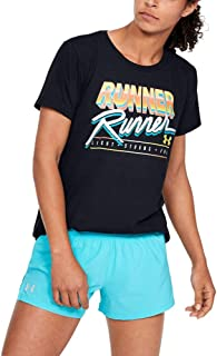 Under Armour Women's UA W Runner Runner Short Sleeve T-Shirt