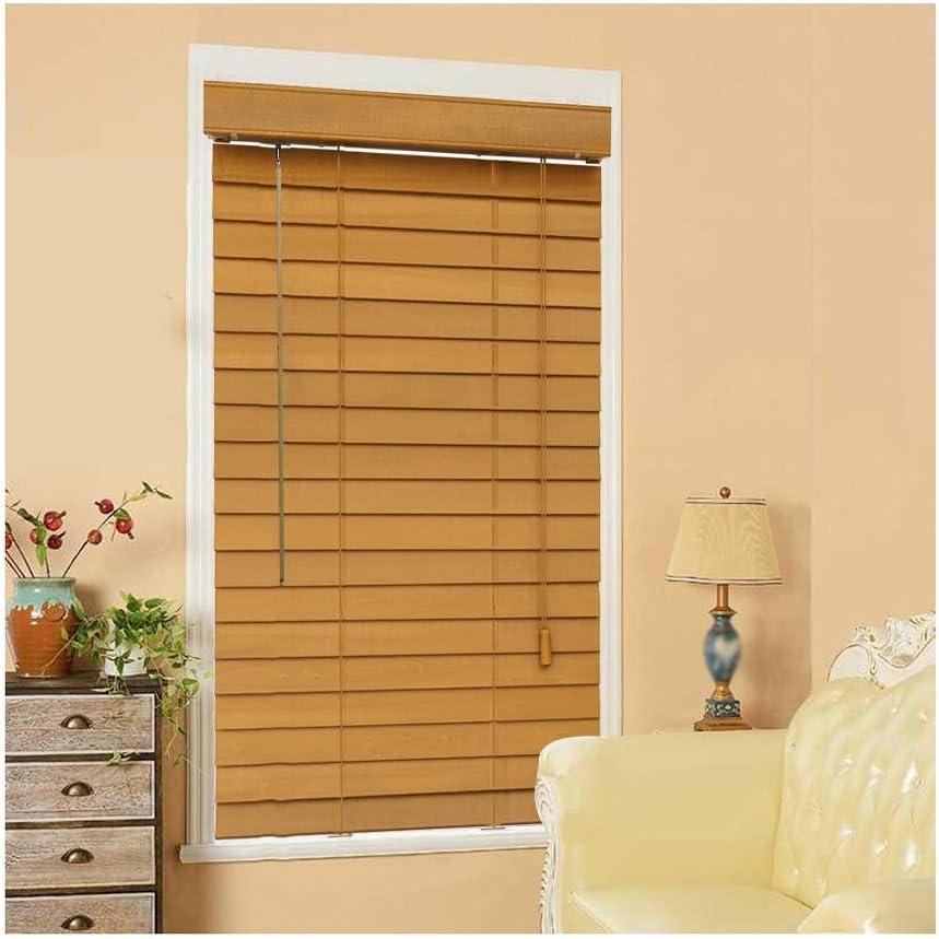 YJFENG 25mm Wood Slats Reservation Venetian Ranking TOP3 Vertical Blinds Curtains Waterpr