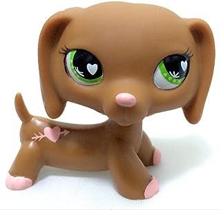 Balamii Little pet Shop Toys Rare pet Shop Toys Standing Little Short Hair cat Pink Cute Great Dane Dachshund Dog pet Toys 72