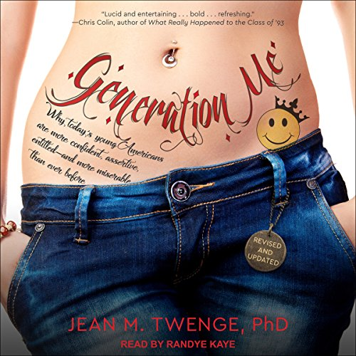 Generation Me audiobook cover art