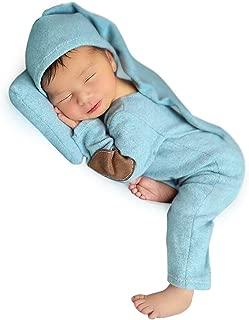 Foryora Newborn Photography Props Outfits – 2Pcs Handmade Set Baby Boy Girl