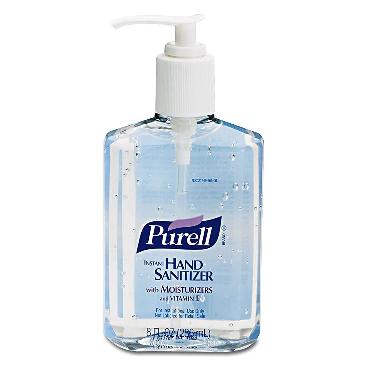 まとめる蒸気邪悪なPURELL Instant Hand Sanitizer, 8-oz. Pump Bottle by Purell
