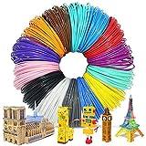 ZOCONE 3D Penna Filamento 1.75mm, 12 Colore(5 Metri per Colore) Linee di Stampa 3D Stampa Filamento, Alta...