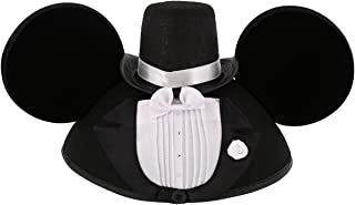 Disney Parks Exclusive Mickey Mouse Wedding Tuxedo Groom Ears Hat