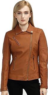 Hashoob Ladies Polyurethan Leather Jacket Women Jacket