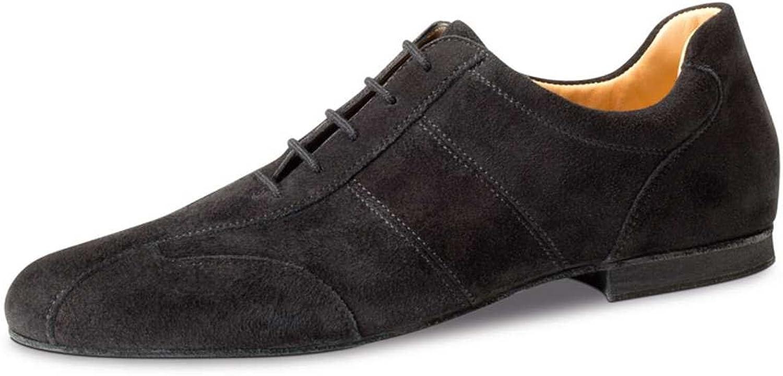 Werner Kern herr Dance skor 28045 28045 28045 - svart mocka - 1.5 cm Micro -Heel  stödja grossistförsäljning