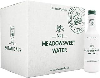 No.1 Botanicals Agua Aromatizada con Ulmaria – Agua con Gas con Extracto Orgánico de Ulmaria - Sin azúcar ni Edulcorantes – Soft Drink o Cocktail Mixer (12 x 330ml)
