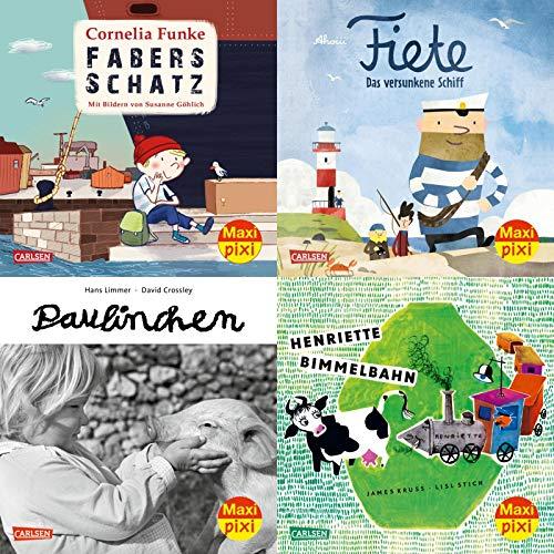 Maxi-Pixi-4er-Set 66: Bilderbuch-Schätze (4x1 Exemplar) (66)