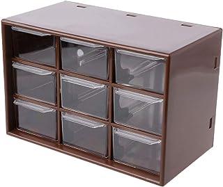 Rongzou Boîte de Rangement à 9 tiroirs