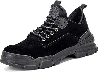 CHNHIRA Chaussures de Securité Homme Femmes Bottes Embout Acier Protection Antidérapante Anti-Perforation Chaussures de Tr...