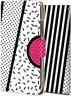 Galaxy Note 9 ケース 手帳型 ギャラクシー ノート9 カバー スマホケース おしゃれ かわいい 耐衝撃 花柄 人気 純正 全機種対応 メンフィス風-08 シンプル アニメ かわいい 7112337