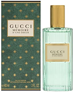 Gucci Memoire D'une Odeur Unisex Eau De Parfum Spray, 2.0 Ounce, clear, 60 ml / 2 Ounce