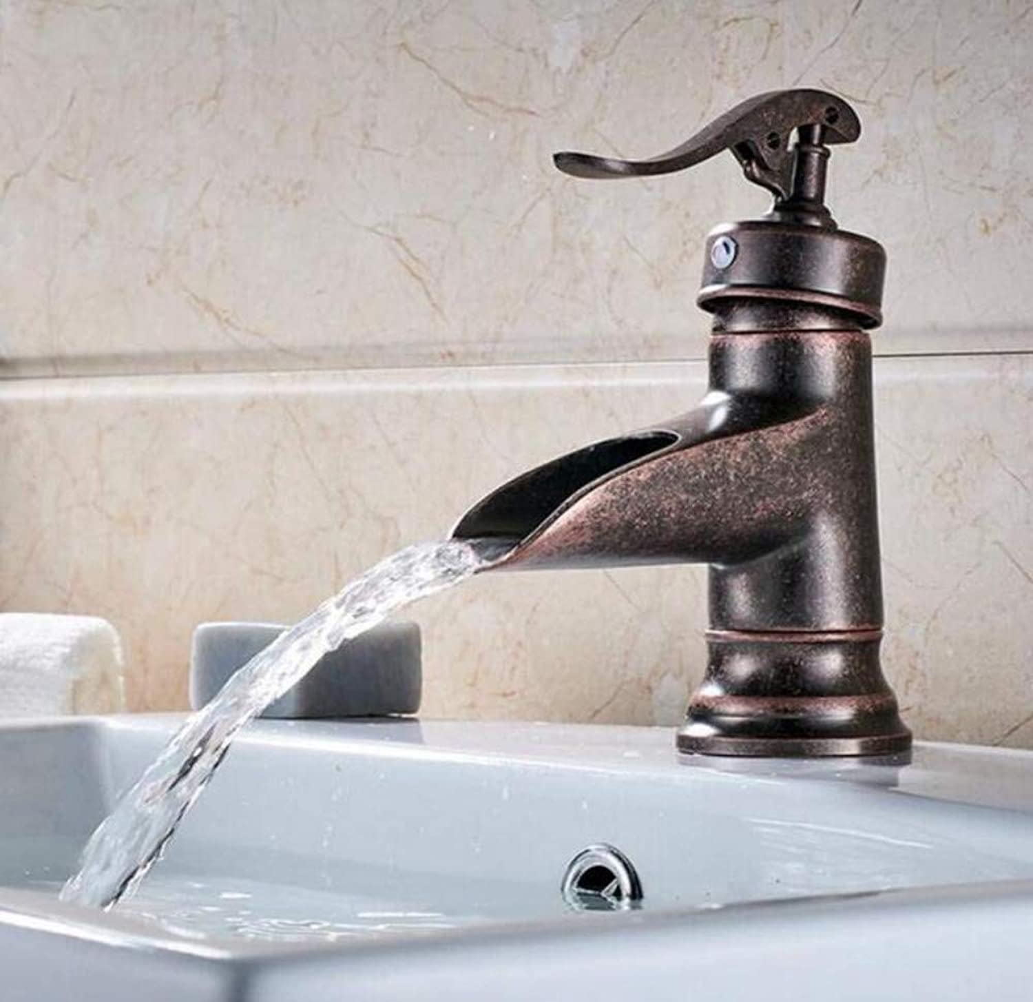 Brass Wall Faucet Chrome Brass Faucet Nickel Brushed Bathroom Sink Faucet Widespread Deck Mounted Dual Handles Mixer Tap