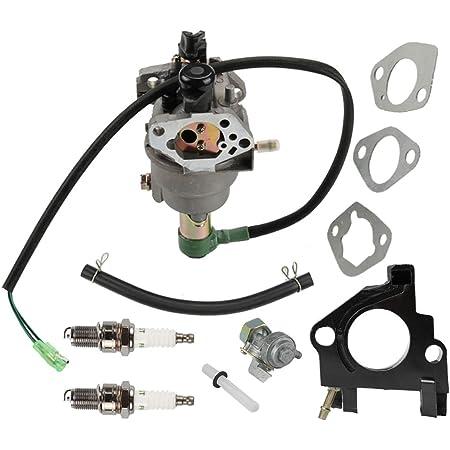 Patio, Lawn & Garden HURI Carburetor with Gasket Spark Plug for ...