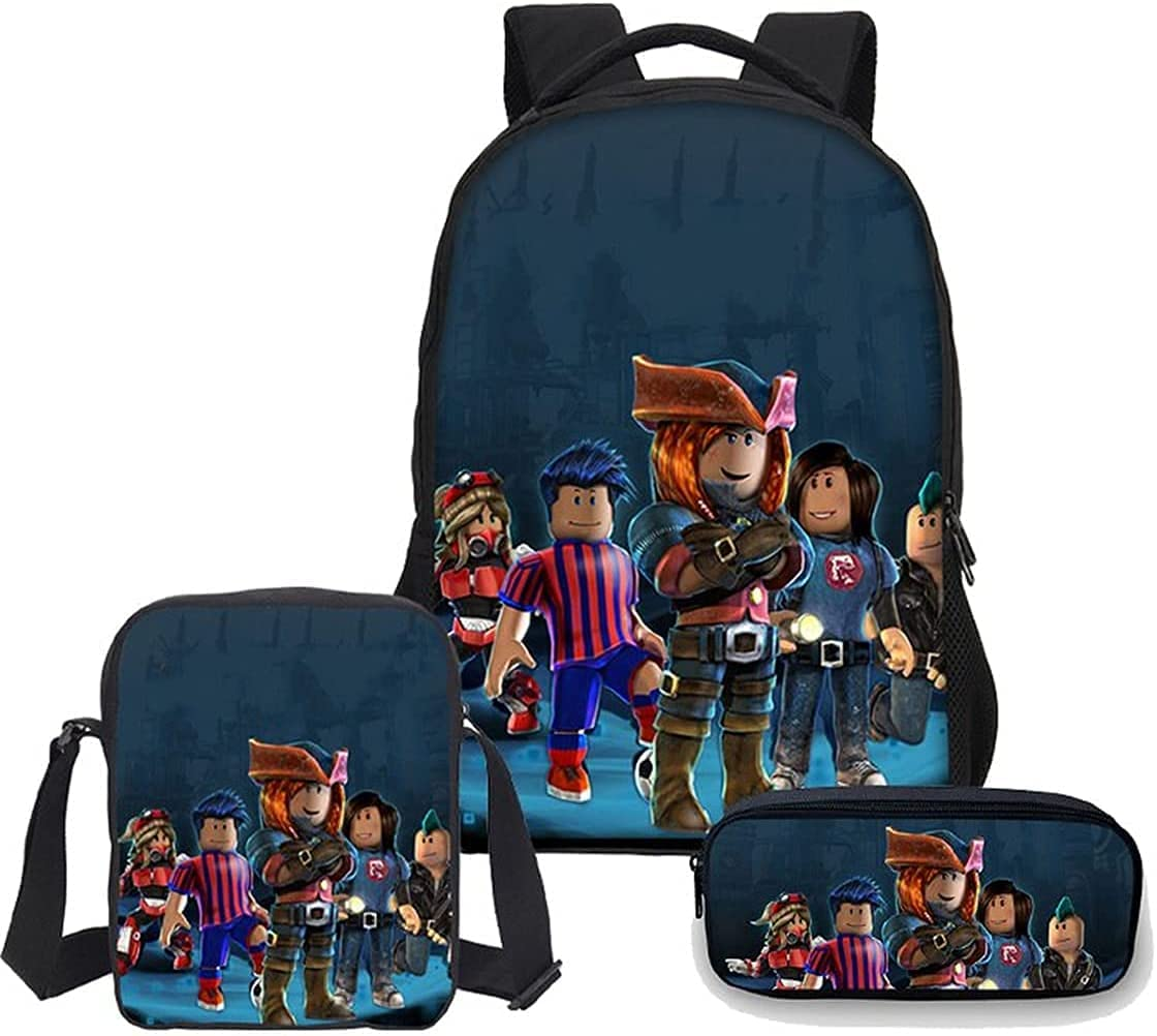 AMYATLIY 3Pcs Toddler Max 80% OFF Backpack for Max 82% OFF Boys Bag with Pencil Ca Lunch