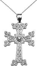 silver armenian cross
