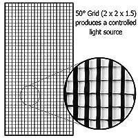 Fotodiox Pro Eggcrate Grid 48 x 72 Fits EZ-Pro & Pro Standard Softboxes - 50 Degrees 2x2x1.5 Openings [並行輸入品]