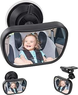 Yuhtech R/étroviseur de Voiture Rotatif /à 360 degr/és pour voir enfant sur de si/ège b/éb/é Miroir de s/écurit/é