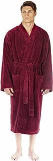 Men's Kimono Fleece Bathrobe Turkish Soft Plush Robe