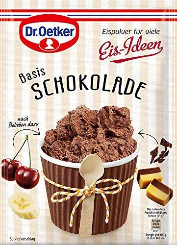 Dr. Oetker Eispulver Schokolade, 116 g