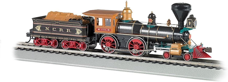 ofrecemos varias marcas famosas Bachmann Industrias trenes 4 4-0American DCC Sound Valor equipado equipado equipado ncrr  la York  Madera Cochega Ho escala locomotora de vapor  los últimos modelos