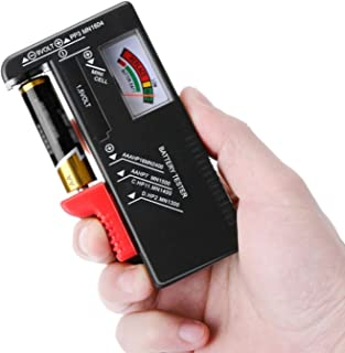 ZHITING Comprobador de Pilas,Comprobador de batería doméstica,probador de batería universal,para las baterías de la célula...