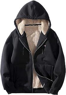 YKARITIANNA Mens Down /& Down Alternative Autumn Winter Casual Winter Long Active /& Performance Velvet Outdoor Sports Coat