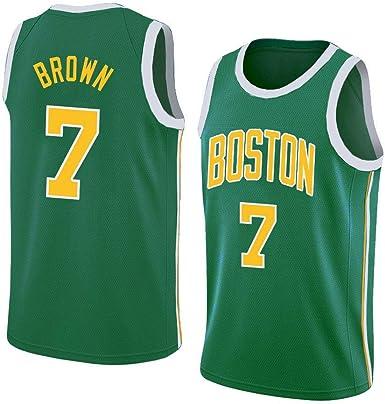 Jaylen Brown #7 Camiseta De Baloncesto De Los Hombres - NBA ...