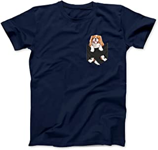Mint Mama Dog in Your Pocket Cavalier King Charles Spaniels T-Shirt
