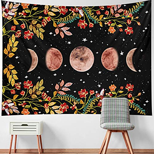 50% off Moon Phase Wall Tapestry Use Promo Code: I5KMCV3K  Works on select options with no quantity limit 2