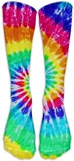 Best long tie dye socks Reviews