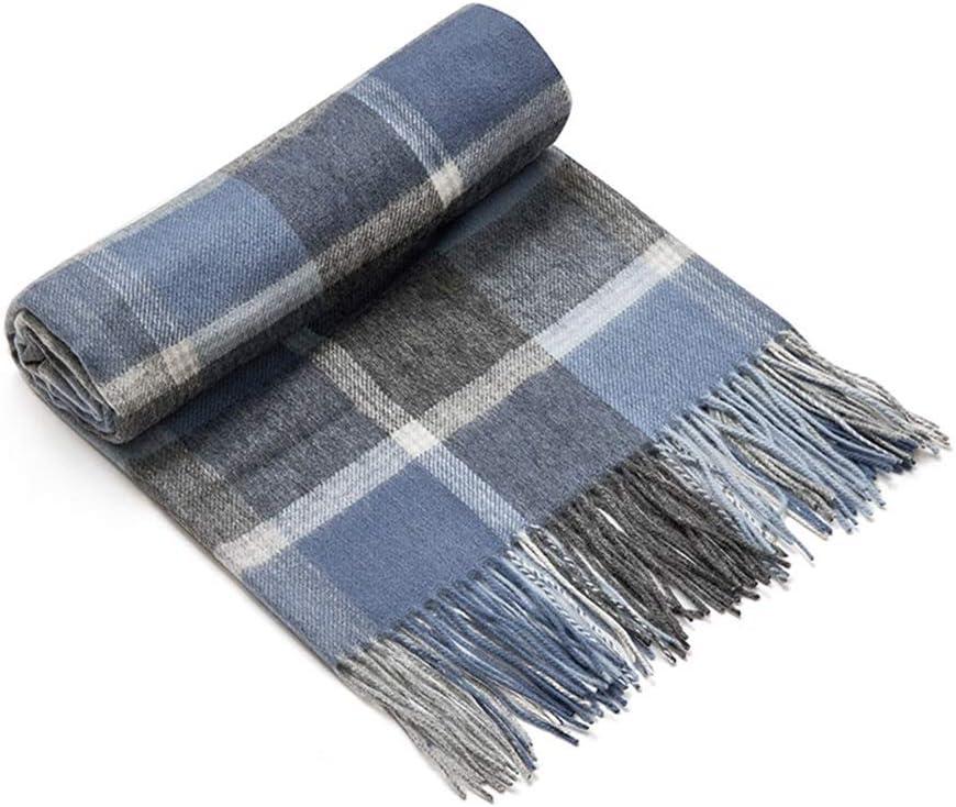 ZCF scarf Scarf, Womens Scarf Long Plaid Shawls Super Soft Wraps Big Grid Winter Warm Cape Lattice Large Scarves (Color : Style1)