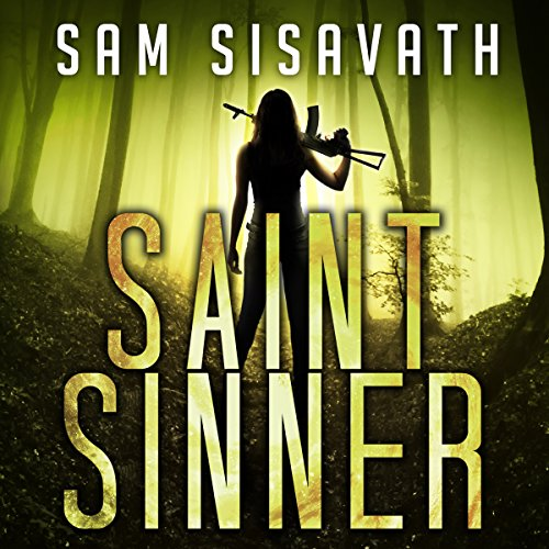 Saint/Sinner audiobook cover art