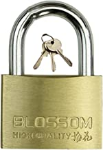WXYZ Keyed Padlocks Messing sleutel hangslot met 3 sleutels, waterdicht en roestbestendige beveiliging Anti-diefstal slot,...