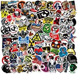 Hard Hat Stickers Big 105 PCS - Funny Sticker for Tool Box Helmet Hood Hardhat, American Patriotic Vinyl Decals for Adult Essential Workers Welders Construction Union Military Oilfield Electrician
