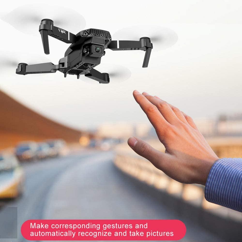 Dawns Drone,720P//1080P HD Camera Foldable Drone with Dual Camera Live Video Foldable HD Flying Quadcopter Drone with Long Battery Life for Adults and Kids Altitude Hold Tap Fly Functions