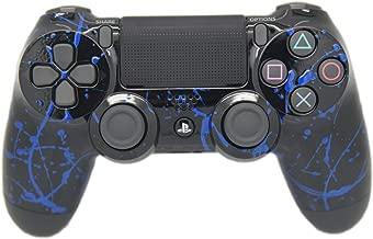 Hand Airbrushed Color Burst Playstation 4 Custom Controller (Blue)