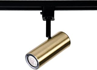 WAC Lighting H-2010-930-BR LED2010 Silo X10 Head in Brushed Brass for H Track, 10 Watts