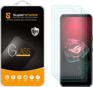 (3 Pack) Supershieldz Designed for Asus Rog Phone 5 / Rog Phone 5 Pro/Rog Phone 5 Ultimate Tempered Glass Screen Protecto...