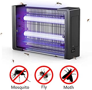 Catchpro Electric Bug Zapper, Indoor/Outdoor Mosquito Fly Moth Insect Killer with Wide Area Coverage UV LED Light 300 to 5000 Sq.ft for Bedroom Living Room Hotel Office and Warehouse