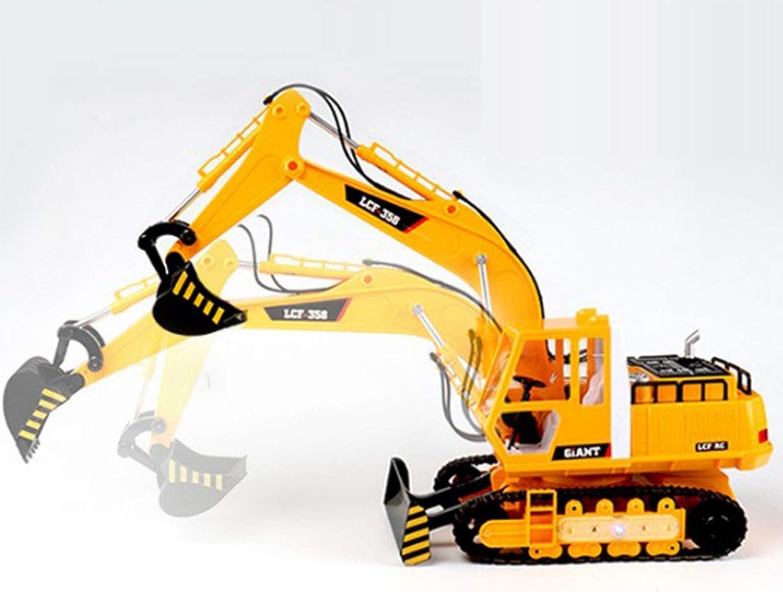 precios razonables Excavadora de Control Control Control Remoto Grande Cochega de ingeniería Camión de Juguete para Niños Excavadora inalámbrica (40  68 cm)  promociones emocionantes