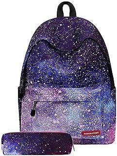 AM ANNA Galaxy School Bag Backpack for Teen Teenage Girls Kids