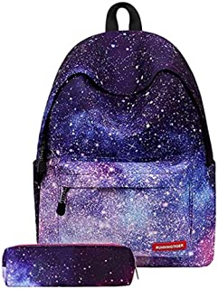 Galaxy School Bag Backpack for Teen Teenage Girls Kids TM2622HP
